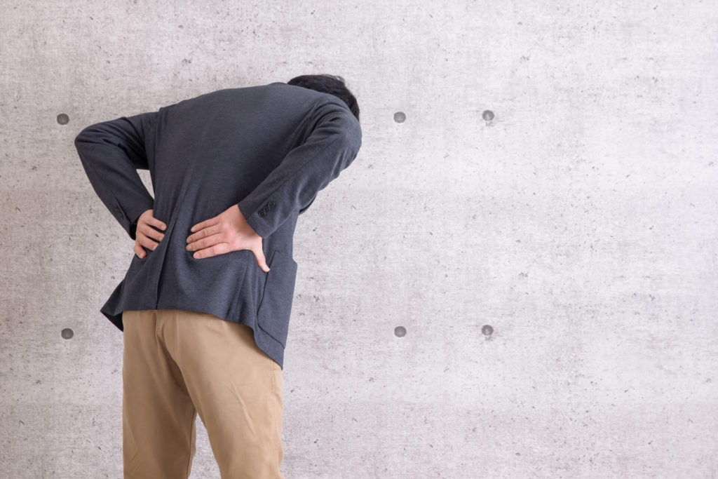 背中の痛み・筋肉痛